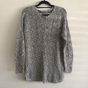 Motherhood Maternity long gray sweater